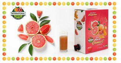 international juices offerta spremute di pompelmo senza ogm promozione spremute di pompelmo con frutta fresca a km 0