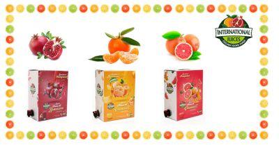 international juices offerta spremute di frutta senza ogm promozione spremute di frutta fresca a km 0
