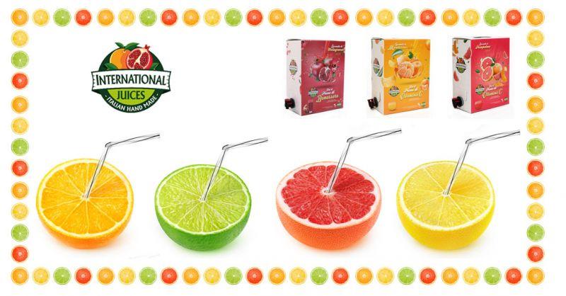 International Juices  - Offerta succhi di frutta freschi bio – promozione produzione succhi e concentrati di agrumi