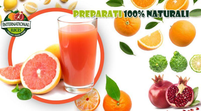 International Juices - offerta produzione e distribuzione succhi naturali senza OGM
