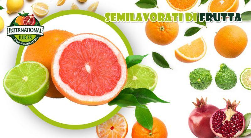 International Juices - offerta distribuzione di lavorazioni e semilavorati di frutta