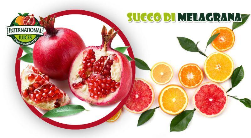 International Juices - offerta produzione Succo Naturale di melagrana italiano