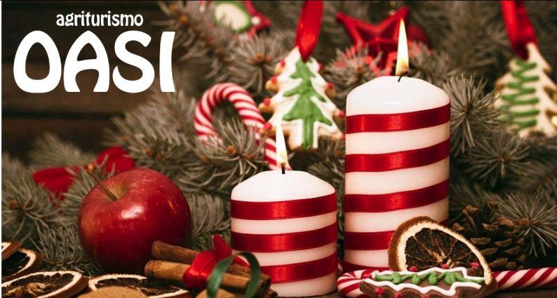Agriturismo Oasi offerta prenotazioni cene aziendali natalizie - giorni di apertura dicembre