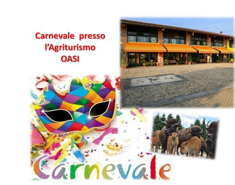 AZIENDA AGRICOLA OASI offerta menu di carnevale - promozione carnevale 2019
