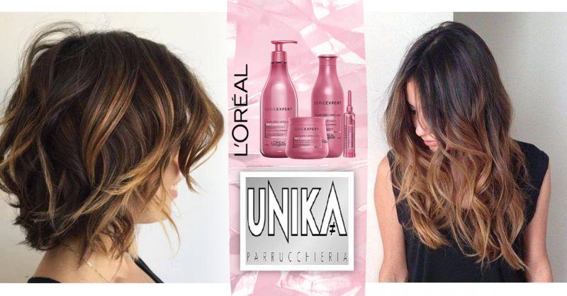 Offerta Trattamento Ristrutturante Capelli L'Oréal Osimo - Occasione Colorazioni Naturali Capelli L'Oréal Parrucchieria Osimo