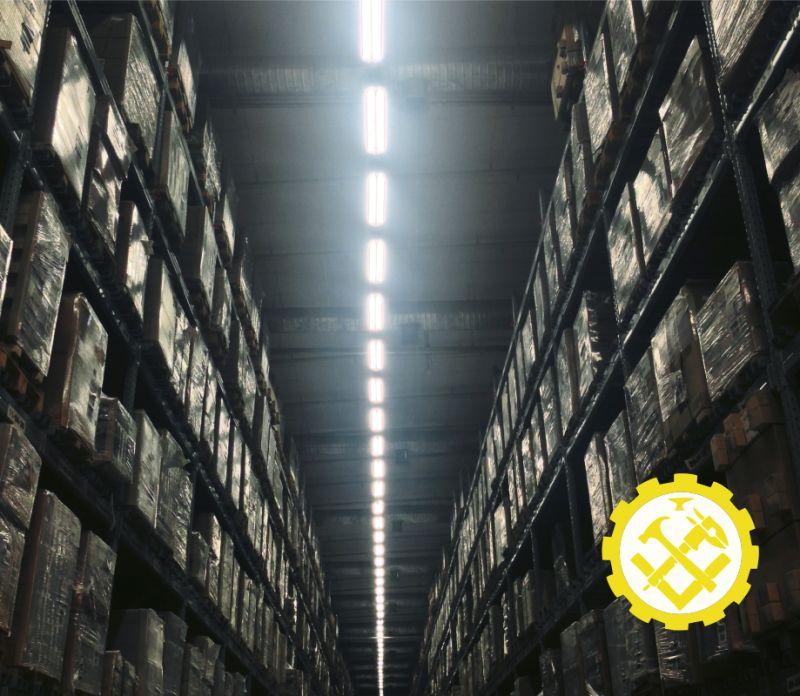 TEKNOSTRUTTURE offerta acquisto scaffalature industriali usate-usato garantito per scaffalature