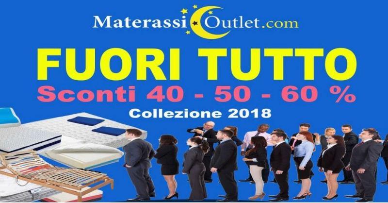 Materassi Outlet offerta sconti sulla collezione 2018 - occasione vendita materassi