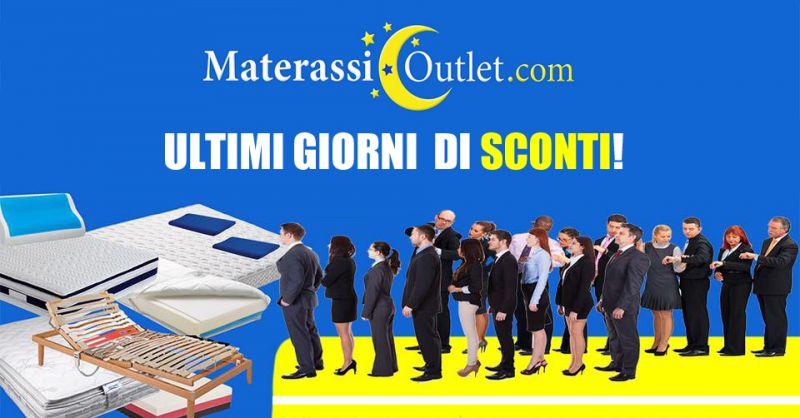 OUTLET DEI MATERASSI - offerta ultimi sconti collezione materassi senigallia