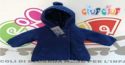 offerta vendita cappotto bimba usato 2 a 4 mesi occasione cappottino in maglia bambina verona