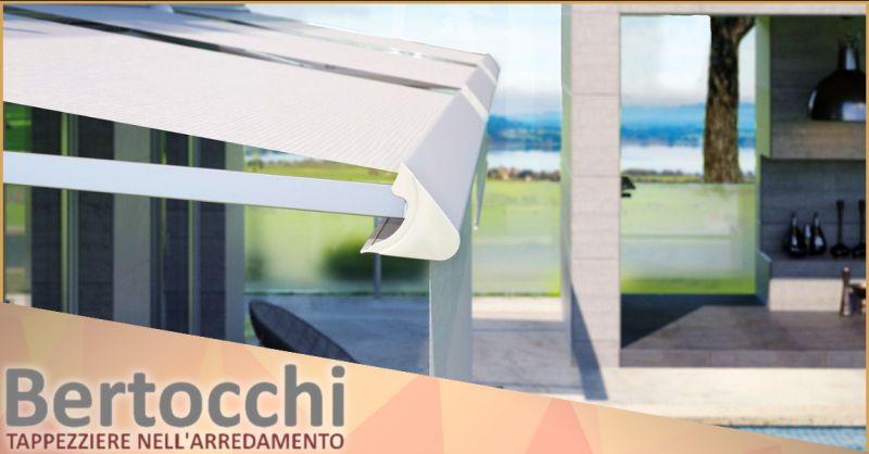 BERTOCCHI TAPPEZZIERE - Offerta vendita e installazione tende da esterno su misura Bergamo