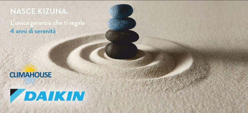 CLIMAHOUSE offerta vendita condizionatori daikin - promozione garanzia kizuna 4 anni