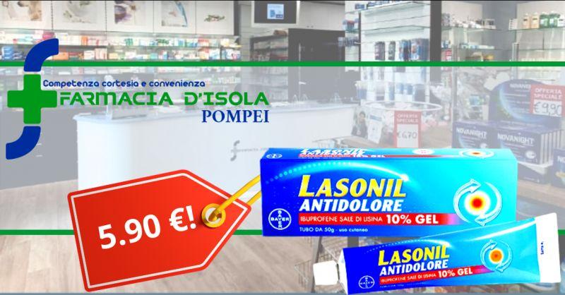 Offerta lasonil pomata antinfiammatorio napoli - occasione farmacia con prezzi bassi pompei