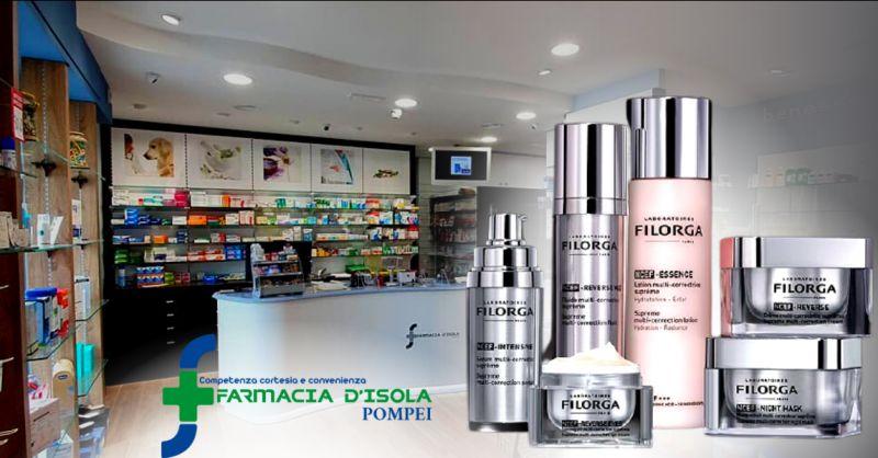 Offerta cosmetici da farmacia scontati Napoli - occasione farmacia con sconti Filorga Pompei