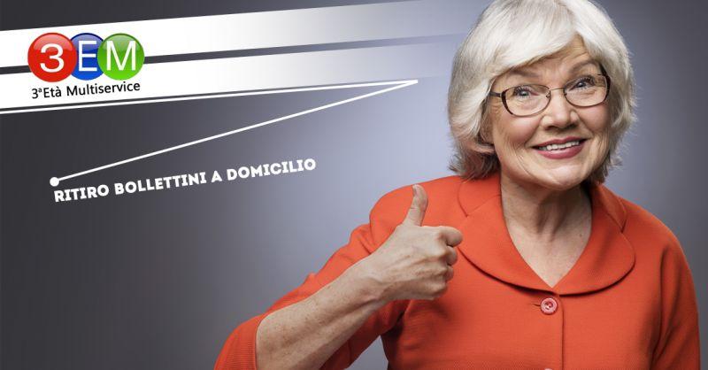 G.S. TERZA ETA' MULTISERVICE - offerta servizio ritiro bollettini a domicilio anziani