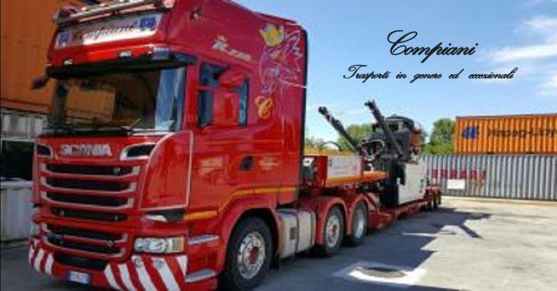 offerta Compiani trasporti per estero - occasione trasporti stradali nazionali a Piacenza