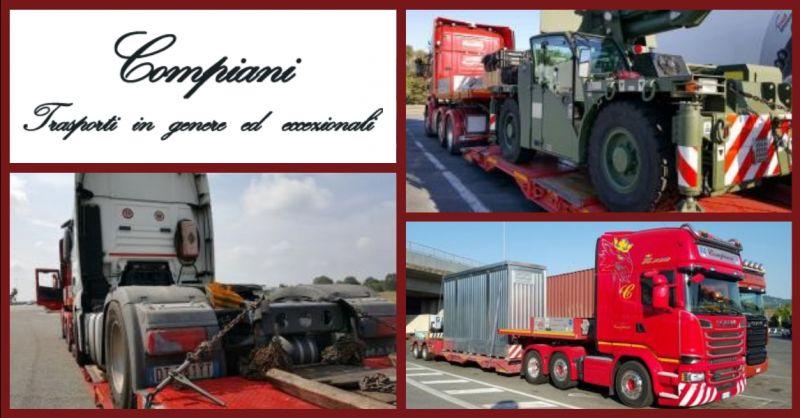 offerta servizio nazionale di autotrasporto per l'Italia e l'Estero
