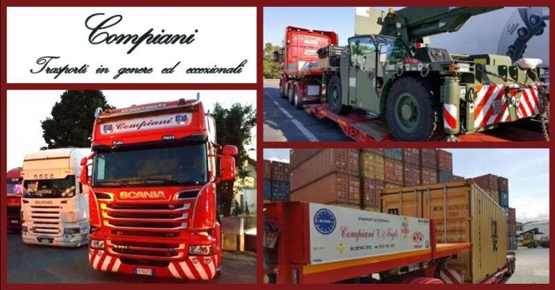 offerta servizio nazionale trasporti fuori sagoma - occasione trasporti nazionali stradali