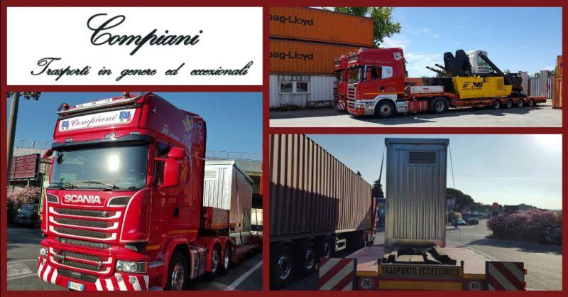 offerta servizio nazionale trasporti carrelli stacker - occasione trasporto carrelli portuali