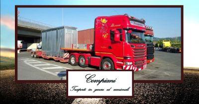 offerta servizio trasporti eccezionali nazionali ed internazionali