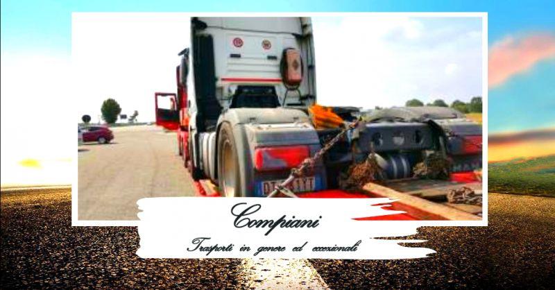 offerta azienda autotrasporti conto terzi - occasione servizio trasporti eccezionali nazionali