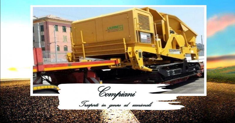 offerta trasporto mezzi con carrelli elevatori - occasione servizio trasporto nazionale merci