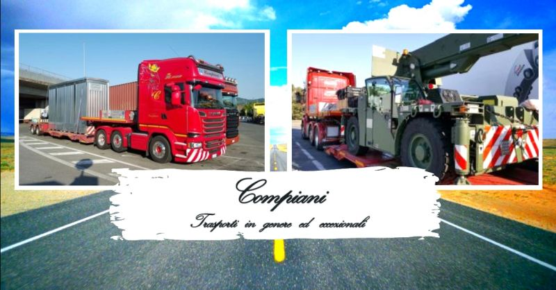 offerta servizio trasporto merci su strada - occasione trasporto su gomma di container