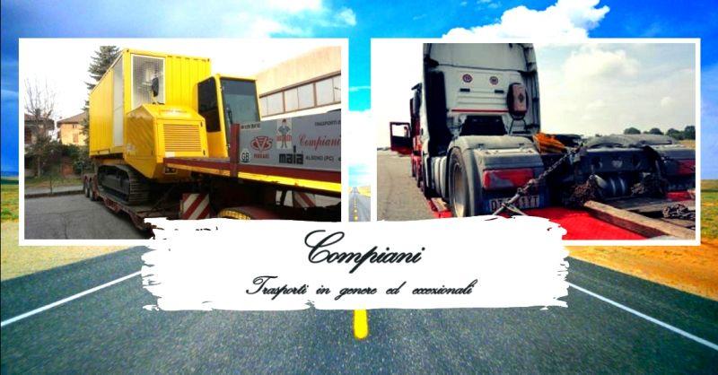 offerta servizio rimorchi per trasporto merci - occasione autoveicoli per trasporti speciali