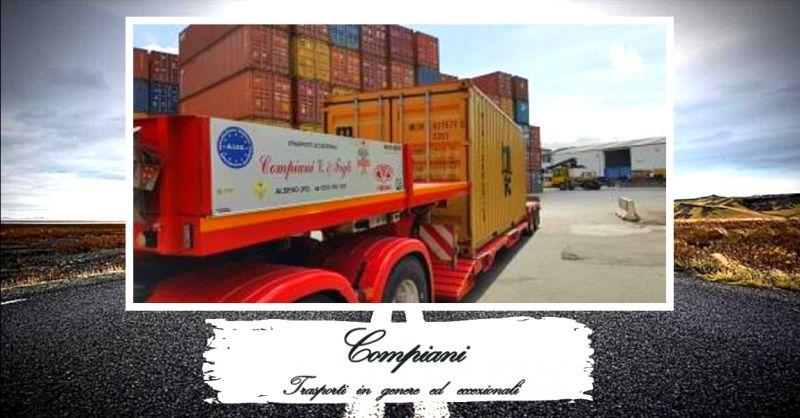 offerta servizio di trasporti stradali di container - occasione trasporto container su gomma