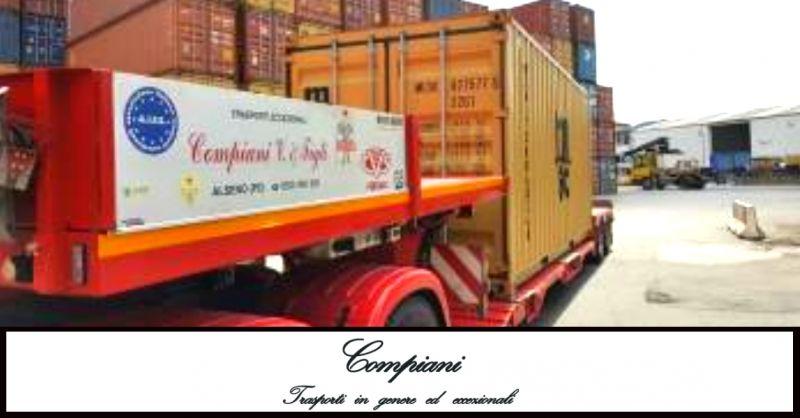 offerta trasporti internazionali di macchinari - occasione servizio trasporti per l'estero