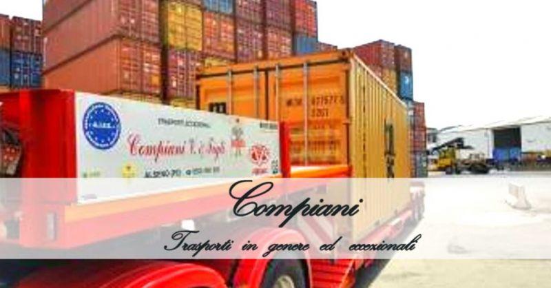 COMPIANI TRASPORTI - Offerta servizio specializzato nel trasporto di container