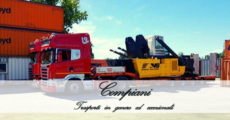 COMPIANI TRASPORTI - Offerta azienda specializzata in trasporti stradali eccezionali