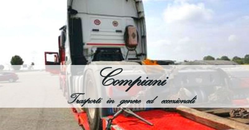 COMPIANI TRASPORTI - offerta servizi professionali di autotrasporti conto terzi