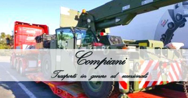 COMPIANI TRASPORTI - Offerta trasporto su mezzi con rimorchi ribassati
