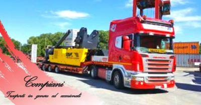 offerta servizio trasporti conto terzi estero occasione trasporto internazionale di merci