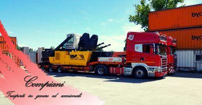 offerta servizio trasporto container per litalia e lestero