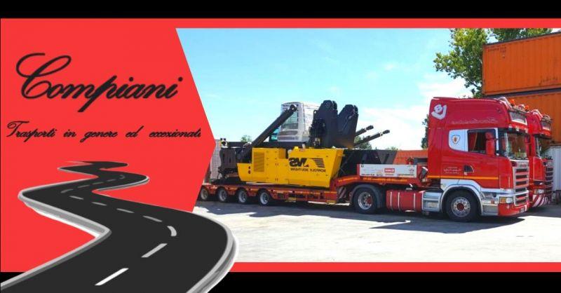 Promozione trasporti eccezionali internazionali di merci fuori sagoma
