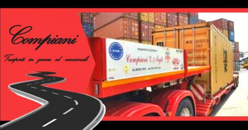 Promozione specialisti in trasporto di container su strada Italia