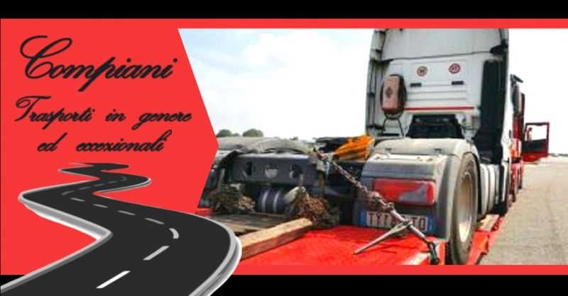 Promozione azienda specializzata in trasporti eccezionali con carrelli portuali Italia