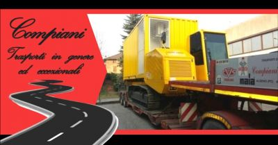 promozione servizio nazionale trasporti speciali di macchine operatrici italia