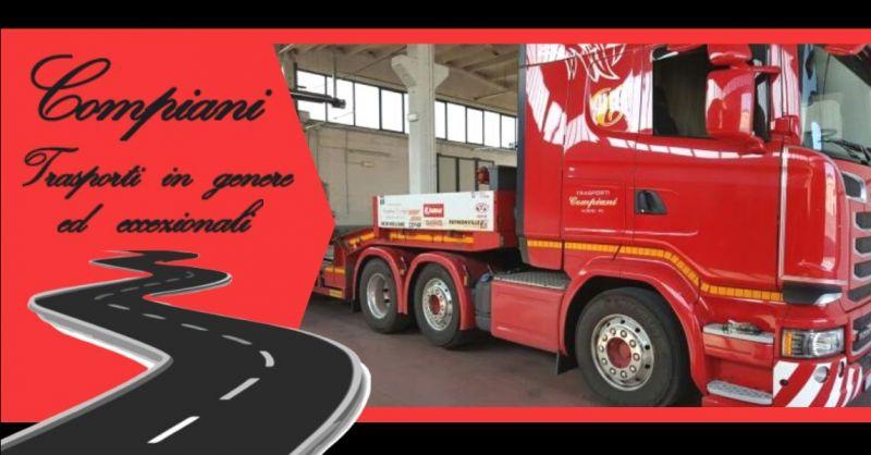Promozione servizio professionale di autotrasporti in Italia e all'estero