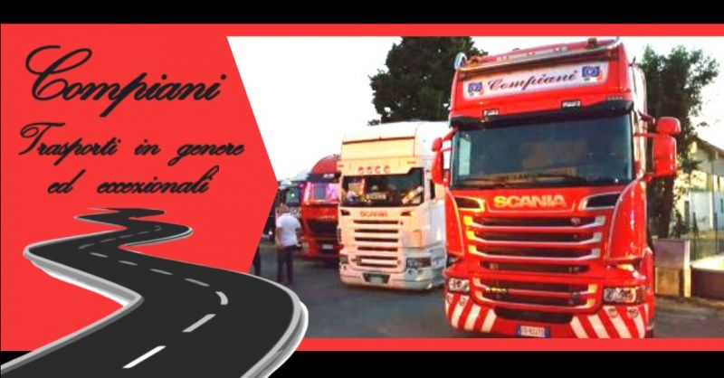 Promozione trasporti nazionali ed internazionali con veicoli eccezionali Italia