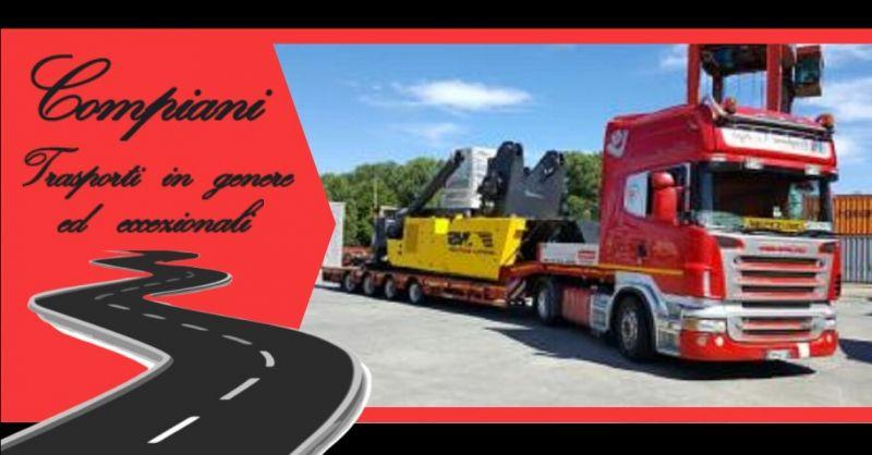 Promozione impresa leader nei trasporti stradali nazionali in genere Italia