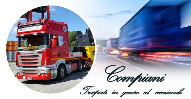 Offerta Servizio professionale di autotrasporti nazionali conto terzi Italia
