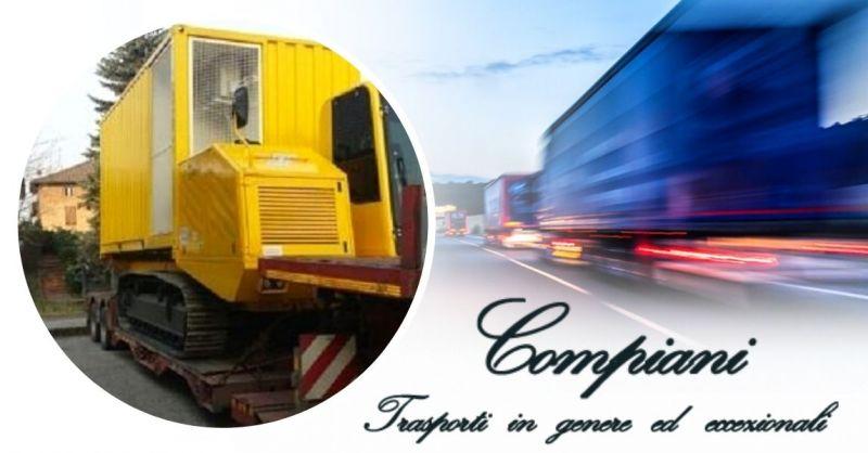 Offerta Azienda specializzata nel trasporto di macchine operatrici in Italia e all'estero