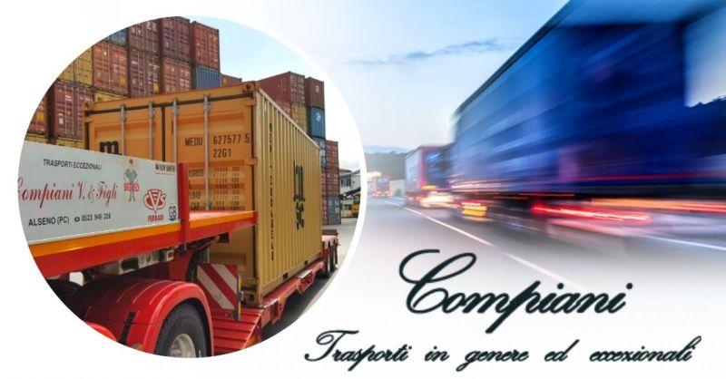 Offerta Trova azienda specializzata nel trasporto di container per l'Italia e l'estero