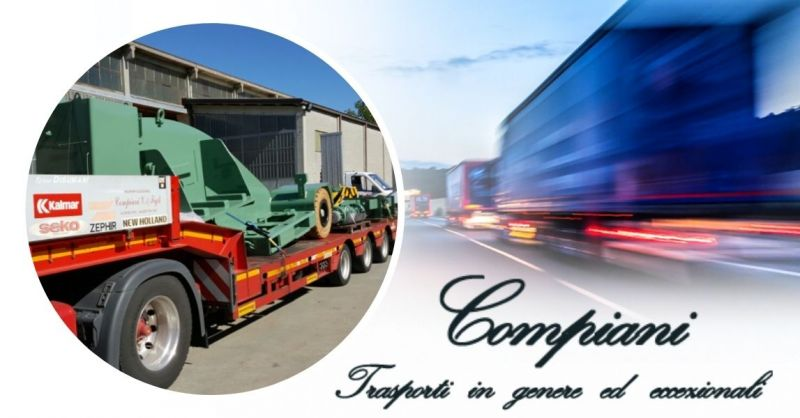 Offerta Servizio nazionale trasporto su mezzi con rimorchi ribassati Italia