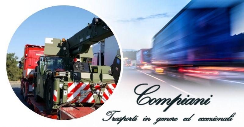 Offerta Servizio trasporto su strada di veicoli commerciali nuovi con targa prova