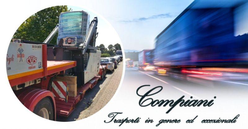 Offerta Servizio di trasporti eccezionali con semirimorchi ribassati per l'Italia e l'estero