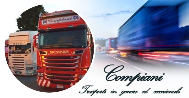 Offerta servizio specializzato per trasporti stradali eccezionali internazionali