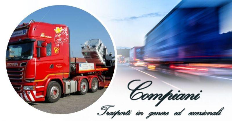 Offerta Servizio nazionale di trasporto merci con autoveicoli speciali attrezzati Italia